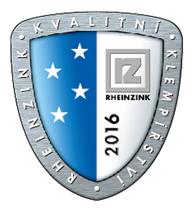 Logo KLUB PŘESNÉHO KLEMPÍŘSTVÍ RHEINZINK